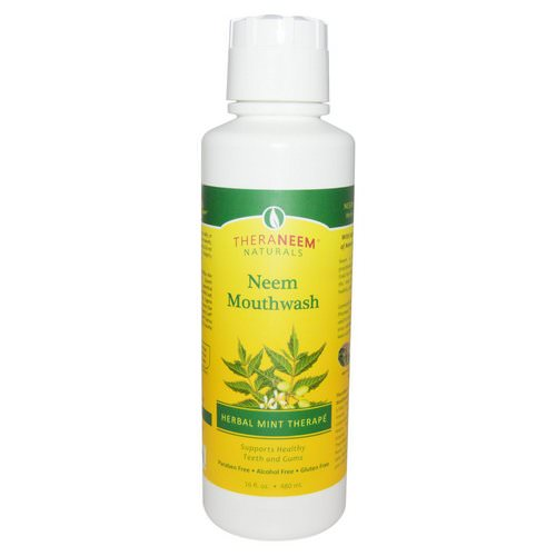 Organix South, TheraNeem Naturals, Herbal Mint Therape, Neem Mouthwash, 16 fl oz (480 ml) Review
