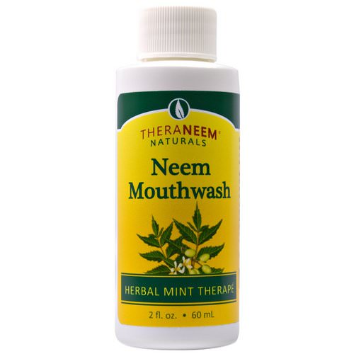 Organix South, TheraNeem Naturals, Herbal Mint Therape, Neem Mouthwash, 2 fl oz (60 ml) Review