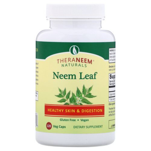 Organix South, TheraNeem Naturals, Neem Leaf, Healthy Skin and Digestion, 120 Veg Caps Review