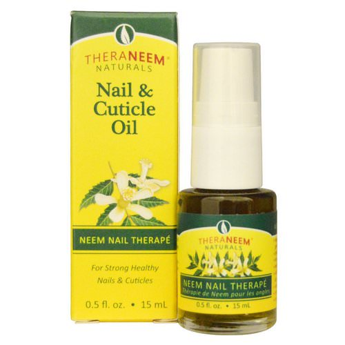 Organix South, TheraNeem Naturals, Neem Nail Therape, Nail & Cuticle Oil, 0.5 fl oz (15 ml) Review
