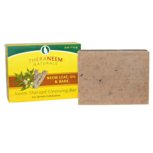 Organix South, TheraNeem Naturals, Neem Therape Cleansing Bar, Neem Leaf, Oil & Bark, 4 oz (113 g) Review