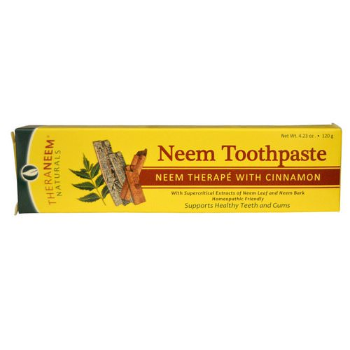 Organix South, TheraNeem Naturals, Neem Therape with Cinnamon, Neem Toothpaste, 4.23 oz (120 g) Review