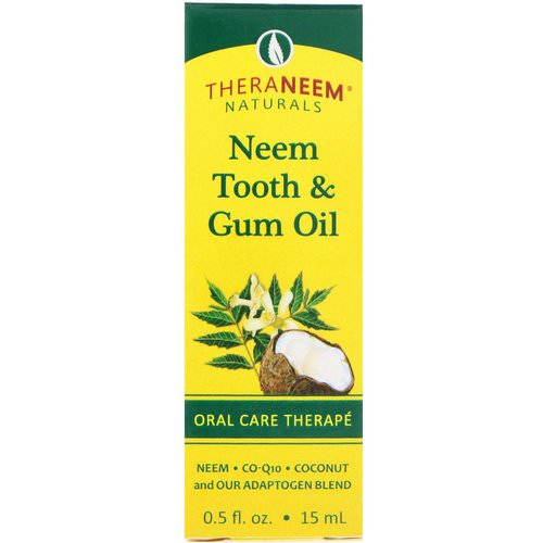 Organix South, TheraNeem Naturals, Neem Tooth & Gum Oil, Oral Care Therape, 0.5 fl oz (15 ml) Review