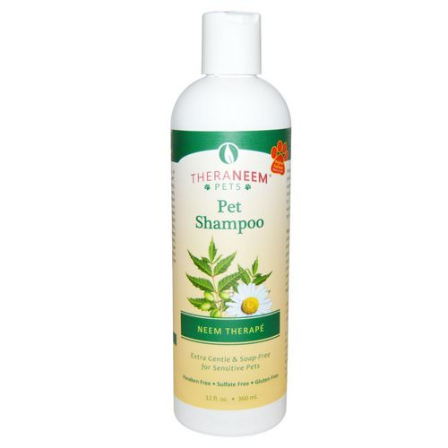 Organix South, TheraNeem Pets, Neem Therape, Pet Shampoo, 12 fl oz (360 ml) Review