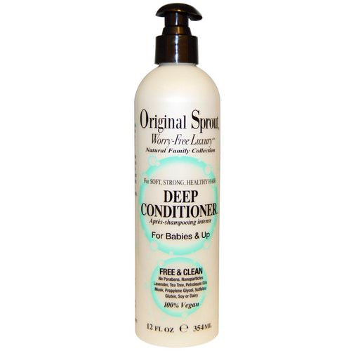 Original Sprout, Deep Conditioner, For Babies & Up, 12 fl oz (354 ml) Review