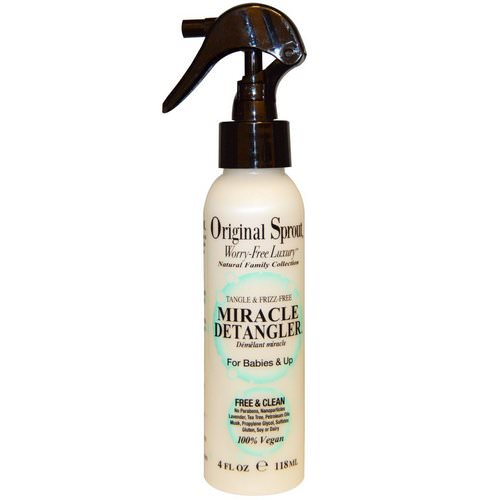 Original Sprout, Miracle Detangler, For Babies & Up, 4 fl oz (118 ml) Review