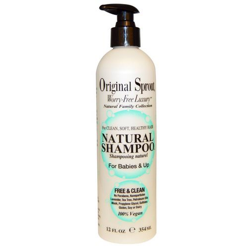Original Sprout, Natural Shampoo, For Babies & Up, 12 fl oz (354 ml) Review