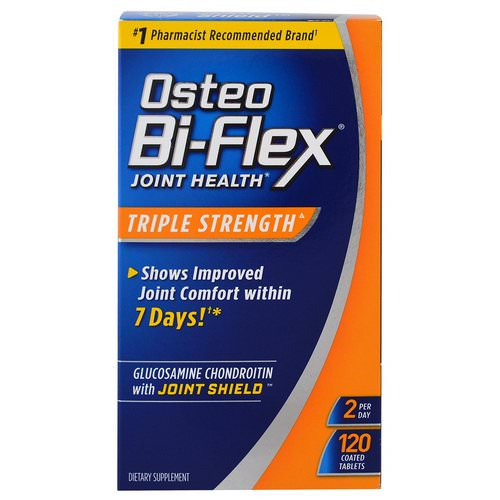 Osteo Bi-Flex, Joint Health, Triple Strength, 120 Coated Tablets Review