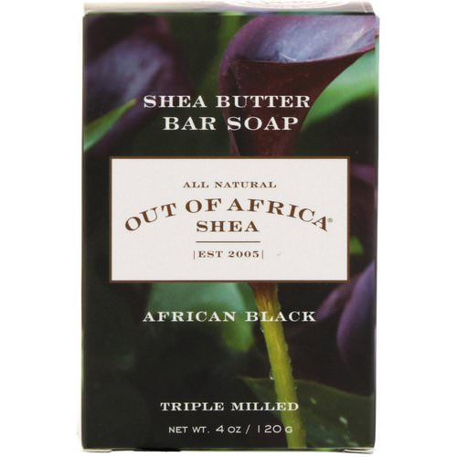 Out of Africa, Shea Butter Bar Soap, African Black, 4 oz (120 g) Review