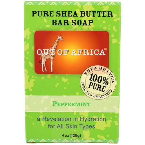 Out of Africa, Shea Butter Bar Soap, Peppermint, 4 oz (120 g) Review
