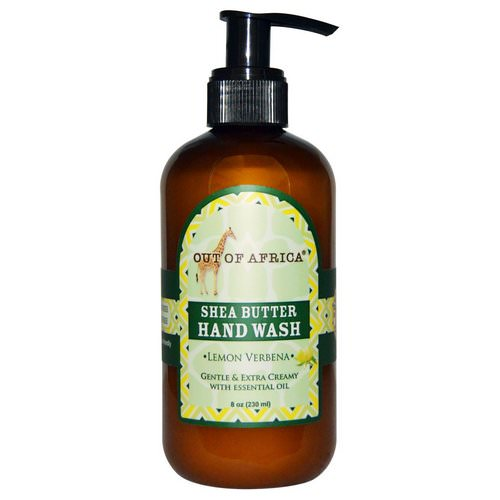 Out of Africa, Shea Butter Hand Wash, Lemon Verbena, 8 fl oz (230 ml) Review
