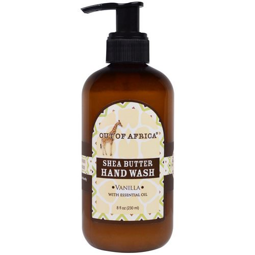 Out of Africa, Shea Butter Hand Wash, Vanilla, 8 fl oz (230 ml) Review