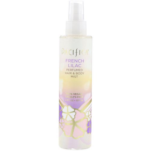 Pacifica, French Lilac Perfumed Hair & Body Mist, 6 fl oz (177 ml) Review
