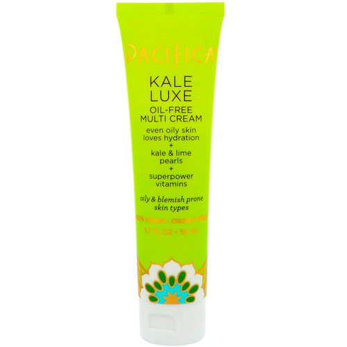 Pacifica, Kale Luxe, Oil-Free Multi Cream, 1.7 fl oz (50 ml) Review