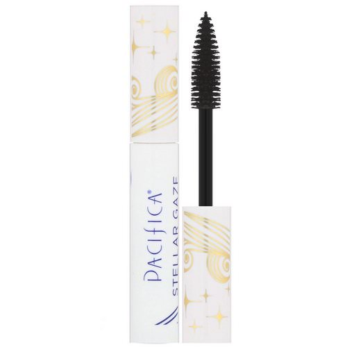 Pacifica, Stellar Gaze, Length & Strength Mineral Mascara, Supernova Black, 0.25 oz (7.1 g) Review