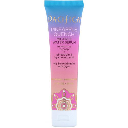 Pacifica, Pineapple Quench, Oil-Free Water Serum, 1.7 fl oz (50 ml) Review