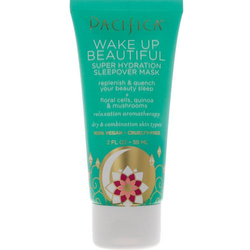 Pacifica, Wake Up Beautiful, Super Hydration Sleepover Mask, 2 fl oz (59 ml) Review