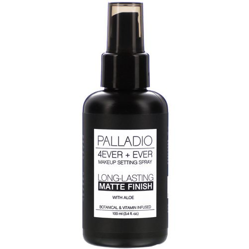 Palladio, 4Ever + Ever Makeup Setting Spray, Long-Lasting Matte Finish, 3.4 fl oz (100 ml) Review