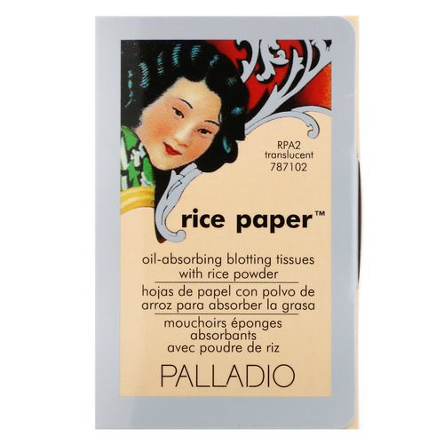 Palladio, Rice Paper, Translucent, 40 Tissues Review