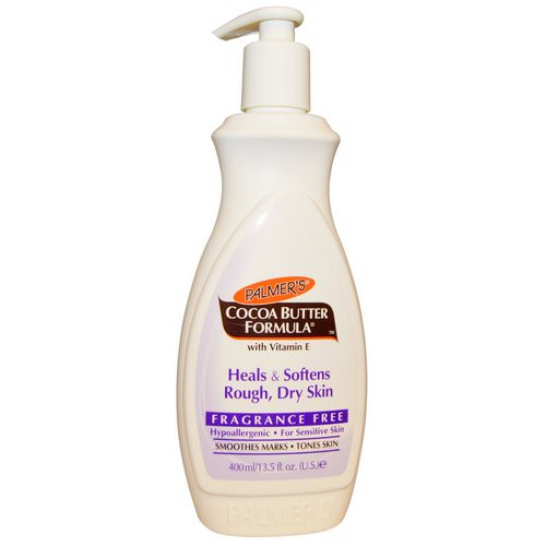 Palmer's, Cocoa Butter Formula, Body Lotion, Fragrance Free, 13.5 fl oz (400 ml) Review