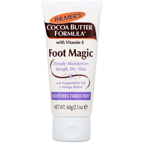 Palmer's, Cocoa Butter Formula, Foot Magic, with Peppermint Oil & Mango Butter, 2.1 oz (60 g) Review