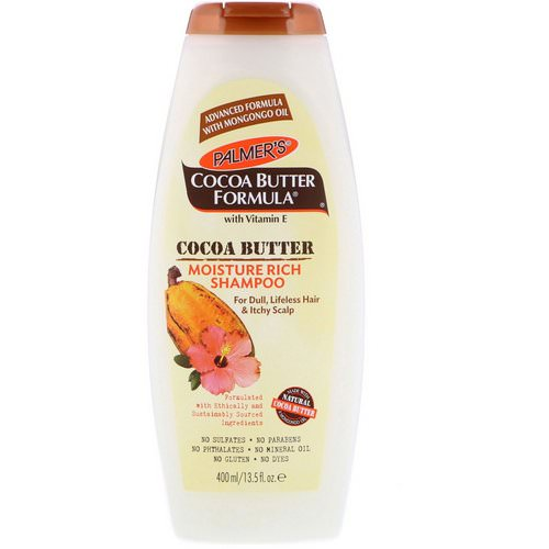 Palmer's, Cocoa Butter Formula, Moisture Rich Shampoo, 13.5 fl oz (400 ml) Review