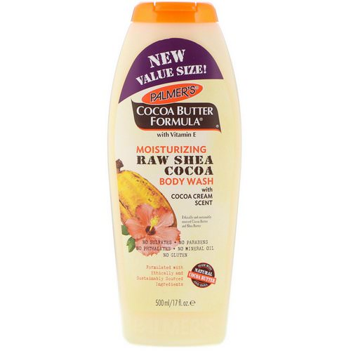 Palmer's, Cocoa Butter Formula, Moisturizing Raw Shea Cocoa Body Wash, with Cocoa Cream Scent, 17 fl oz (500 ml) Review