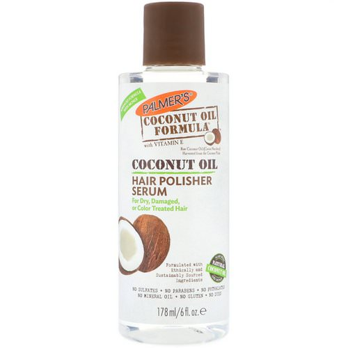 Palmer's, Coconut Oil Formula, Hair Polisher Serum, 6 fl oz (178 ml) Review