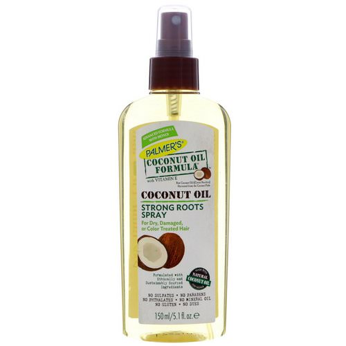 Palmer's, Coconut Oil Formula, Strong Roots Spray, 5.1 fl oz (150 ml) Review