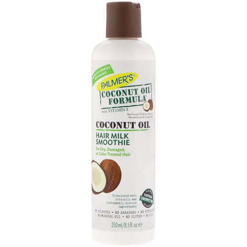 Palmer's, Coconut Oil Formula with Vitamin E, Hair Milk Smoothie, 8.5 fl oz (250 ml) Review
