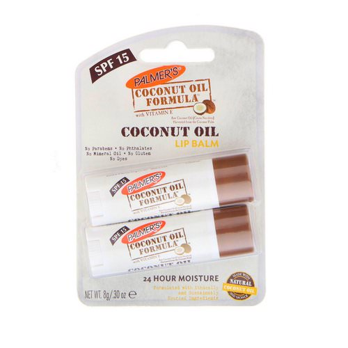 Palmer's, Coconut Oil Lip Balm, SPF 15, 2 Pack, 0.30 oz (0.8 g) Review