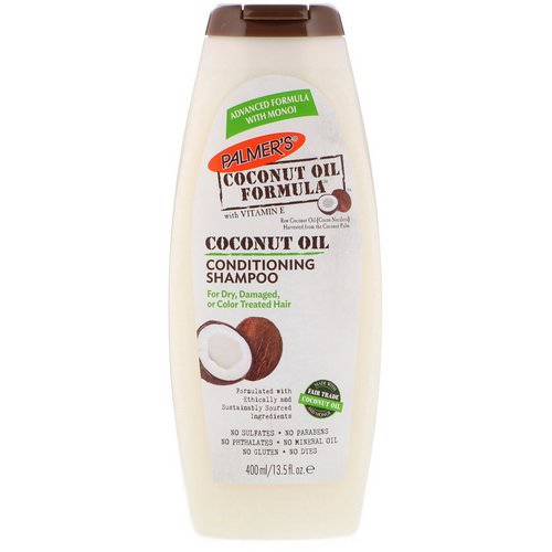Palmer's, Conditioning Shampoo, Coconut Oil, 13.5 fl oz (400 ml) Review