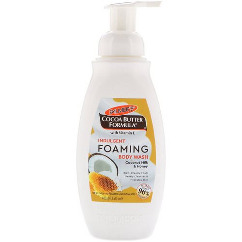 Palmer's, Indulgent Foaming Body Wash, Coconut Milk & Honey, 13.5 fl oz (400 ml) Review
