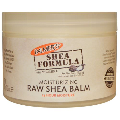 Palmer's, Shea Formula with Vitamin E, Moisturizing Raw Shea Balm, 7.25 oz (200 g) Review