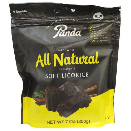Panda Licorice, Soft Licorice, 7 oz (200 g) Review