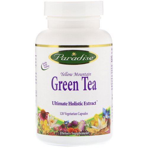Paradise Herbs, Green Tea, 120 Vegetarian Capsules Review
