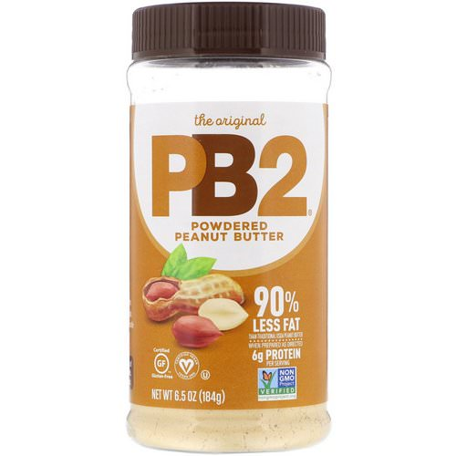 PB2 Foods, The Original PB2, Powdered Peanut Butter, 6.5 oz (184 g) Review