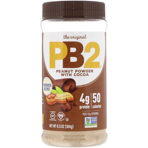 PB2 Foods, PB2, Powdered Peanut Butter with Cocoa, 6.5 oz (184 g) Review