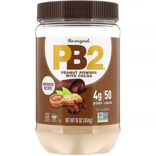 PB2 Foods, PB2, Peanut Powder With Cocoa, 16 oz (453.6 g) Review