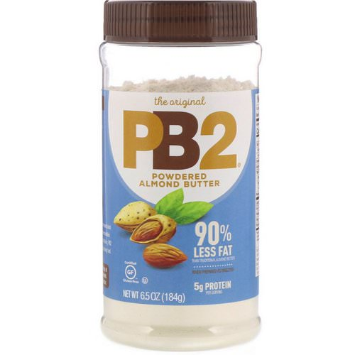 PB2 Foods, The Original PB2, Powdered Almond Butter, 6.5 oz (184 g) Review