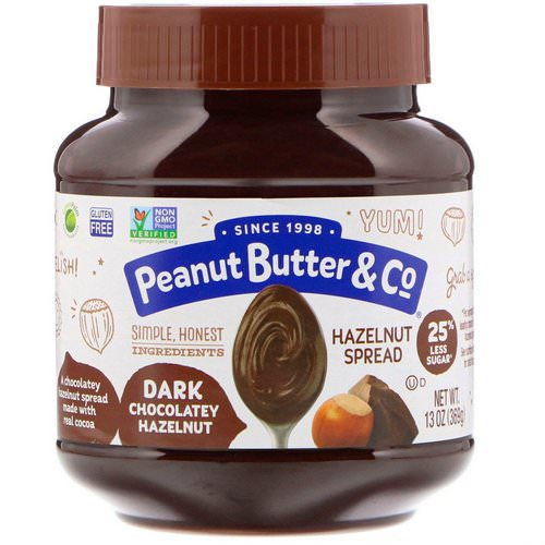 Peanut Butter & Co, Hazelnut Spread, Dark Chocolatey Hazelnut, 13 oz (369 g) Review