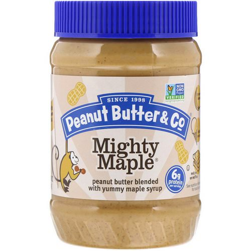 Peanut Butter & Co, Mighty Maple, Peanut Butter Blended with Yummy Maple Syrup, 16 oz (454 g) Review
