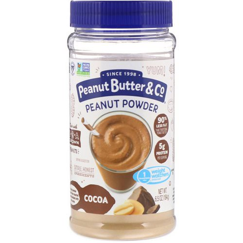Peanut Butter & Co, Mighty Nut, Powdered Peanut Butter, Chocolate, 6.5 oz (184 g) Review