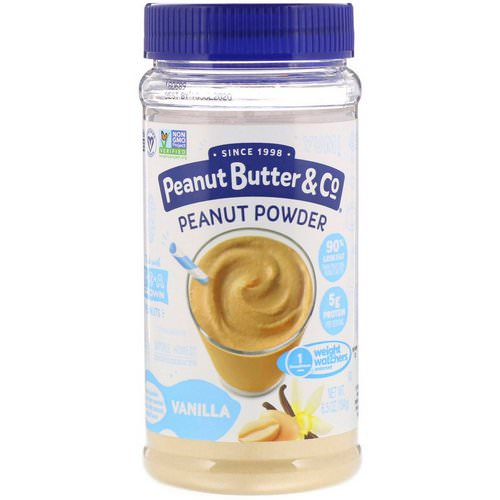 Peanut Butter & Co, Mighty Nut, Powdered Peanut Butter, Vanilla, 6.5 oz (184 g) Review