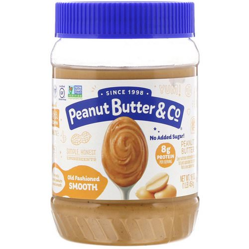 Peanut Butter & Co, Old Fashioned Smooth, Peanut Butter, 16 oz (454 g) Review