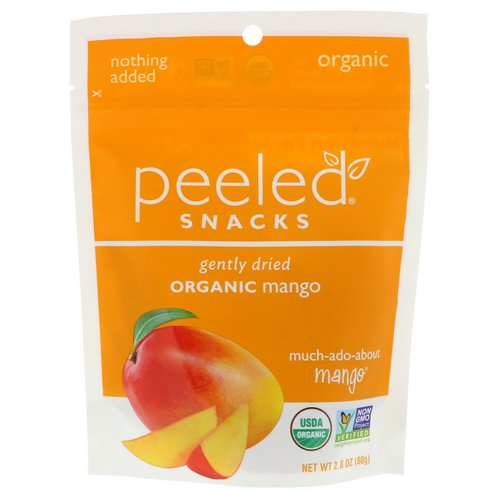 Peeled Snacks, Gently Dried, Organic, Mango, 2.8 oz (80 g) Review