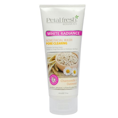 Petal Fresh, Botanicals, Acne Facial Wash, Pore Clearing, Chamomile + Oatmeal, 7 fl oz (200 ml) Review