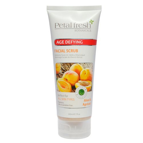 Petal Fresh, Botanicals, Age Defying Facial Scrub, Aloe & Apricot, 7 fl oz (200 ml) Review