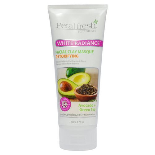 Petal Fresh, Botanicals, White Radiance Facial Clay Masque, Avocado + Green Tea, 7 fl oz (200 ml) Review