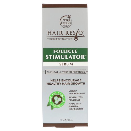 Petal Fresh, Hair ResQ, Thickening Treatment, Follicle Stimulator Serum, 2 fl oz (60 ml) Review